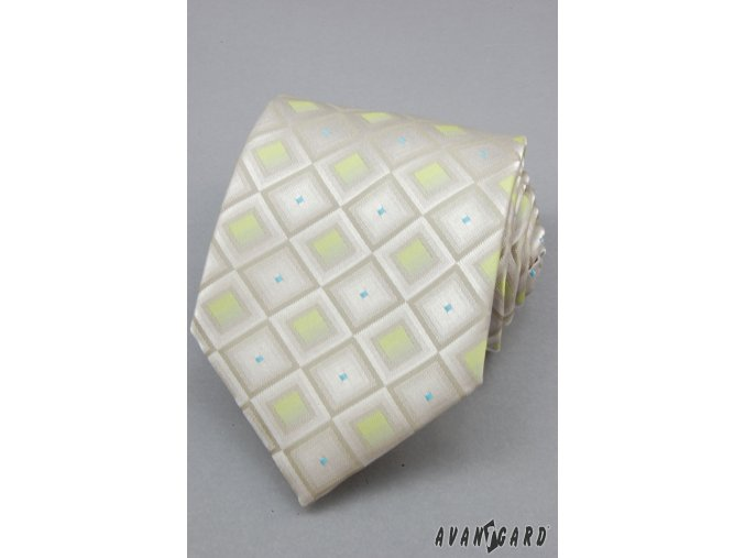 Kravata AVANTGARD 559-090110 Zelená (Barva Zelená, Velikost šířka 8 cm, Materiál 100% polyester)