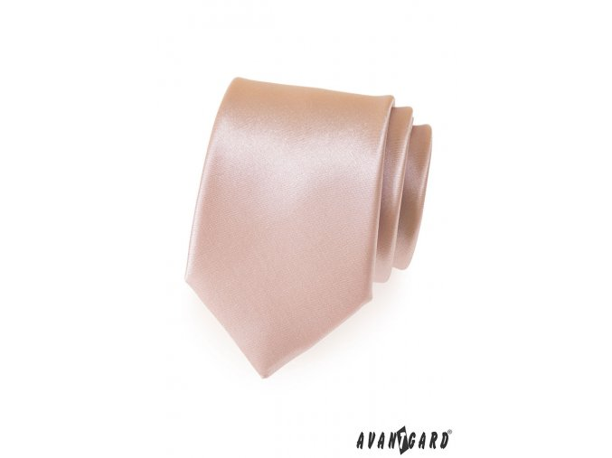 Kravata AVANTGARD 559-713 Béžová (Barva Béžová, Velikost šířka 7 cm, Materiál 100% polyester)