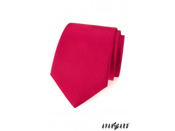 Matná červená kravata