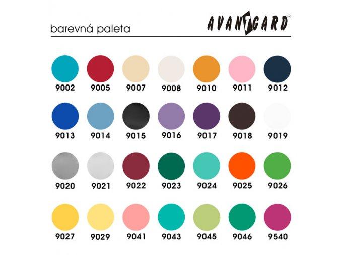 Tmavě červená jednobarevná luxusní kravata