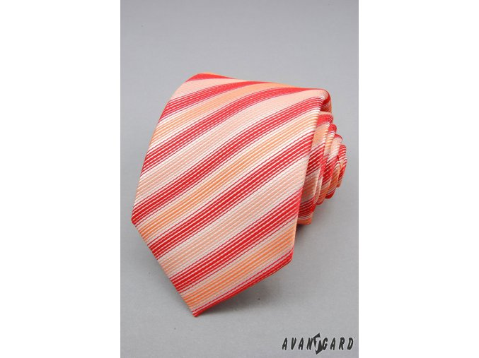 Kravata AVANTGARD LUX 561-91413 Červená (Barva Červená, Velikost 0, Materiál 100% polyester)