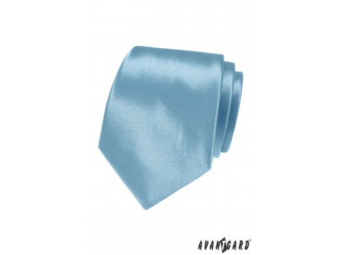 Kravata AVANTGARD LUX 561-9014 Modrá (Barva Modrá, Velikost šířka 7 cm, Materiál 100% polyester)