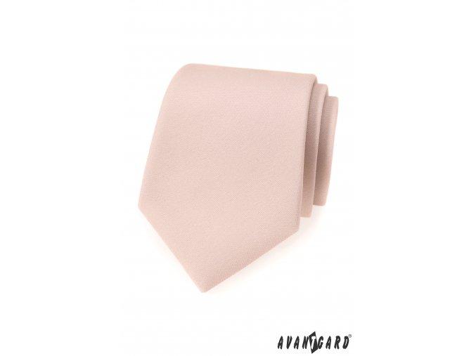 Ivory matná kravata