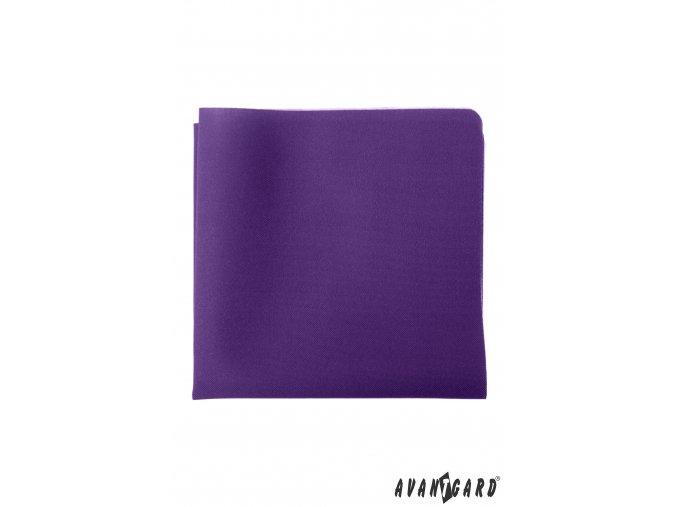 Fialový luxusní kapesníček