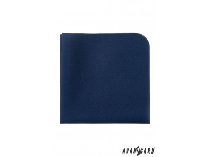Tmavě modrý luxusní kapesníček