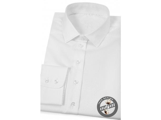 Bílá dámská košile, dl.ruk. 721-1