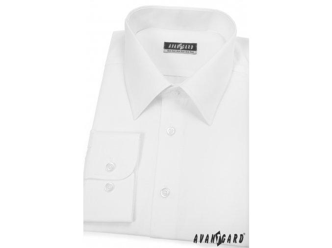 Pánská košile AVANTGARD dl. ruk. 511-1 Bílá