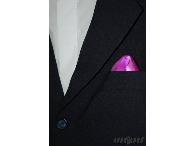 Fuchsiový jednobarevný kapesníček