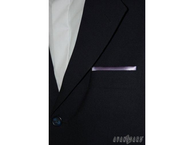 Světle fialový jednobarevný kapesníček