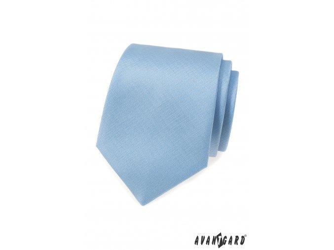 Velmi světle modrá pánská kravata