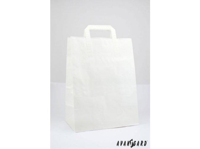 Bílá papírová taška