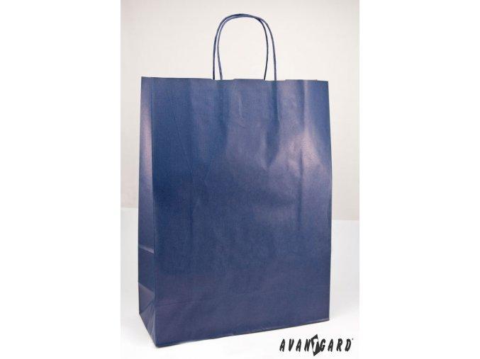 Modrá dárková taška