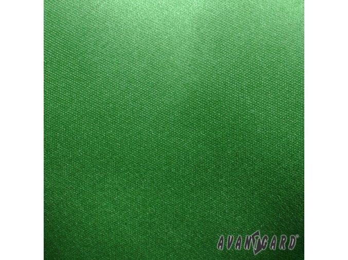 Zelený jednobarevný kapesníček
