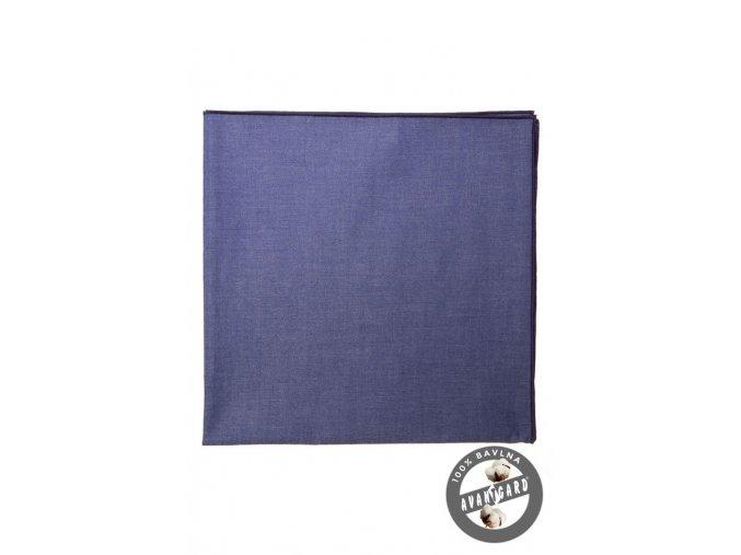 Tmavě modrý dámský šátek_