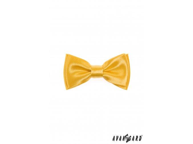 Žlutý chlapecký MINI motýlek