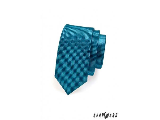 Petrol SLIM kravata