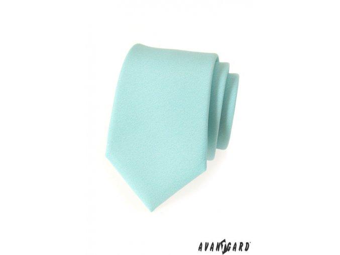 Kravata AVANTGARD LUX 561-9810 Mátová (Barva Mátová, Velikost šířka 7 cm, Materiál 100% polyester)