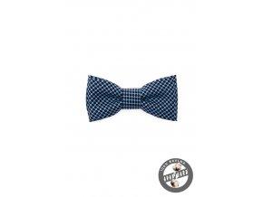 Motýlek MINI 531-5086 Modrá (Barva Modrá, Velikost 7 cm, Materiál 100% bavlna)