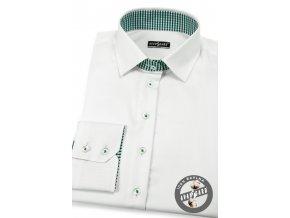 Bílá dámská košile, dl. rukáv, 721-0108