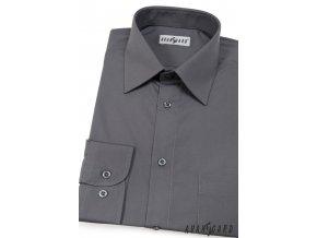 Grafitová pánská košile, dl.rukáv, 451-22 V22