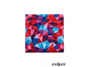 Kapesníček AVANTGARD LUX 583-1924 Červená (Barva Červená, Velikost 28x28 cm, Materiál 100% polyester)