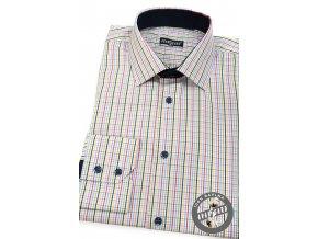 Bílá pánská SLIM FIT košile, dl. rukáv, 109-0125