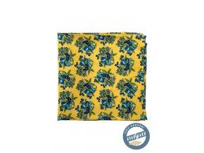 Žlutý kapesníček se švestkami