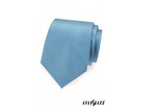 Modrá luxusní kravata_