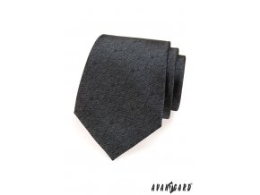 Tmavě grafitová luxusní kravata_