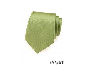 Zelená luxusní kravata_