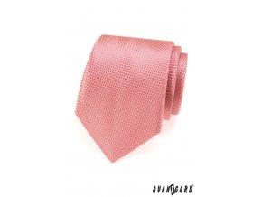 Pudrová kravata s hadím vzorem