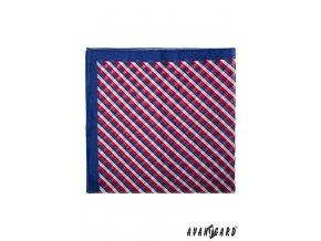 Barevný šátek - trikolóra