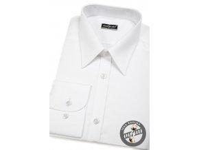 Bílá pánská SLIM FIT košile, dl. rukáv, 167-00