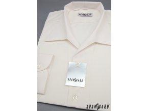 Smetanová košile rozhalenka 457-2