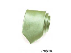 Kravata AVANTGARD 559-719 719 - zelená (Barva 719 - zelená, Velikost šířka 7 cm, Materiál 100% polyester)