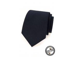 Velmi tmavě modrá bavlněná kravata
