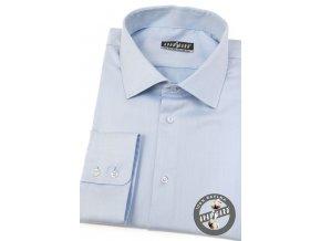 Světle modrá pánská klasická košile, dl.rukáv, 509-49