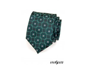 Kravata AVANTGARD 559-1361 Zelená (Barva Zelená, Velikost šířka 7 cm, Materiál 100% polyester)