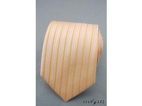 Kravata AVANTGARD LUX 561-060829 Žlutá (Barva Žlutá, Velikost šířka 9 cm, Materiál 100% polyester)