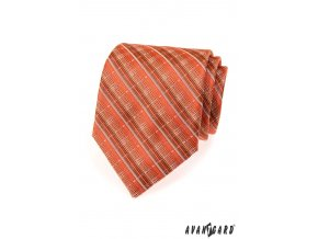 Kravata AVANTGARD LUX 561-80707 Oranžová (Barva Oranžová, Velikost šířka 9 cm, Materiál 100% polyester)