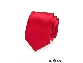 Kravata AVANTGARD LUX 561-14404 Červená (Barva Červená, Velikost šířka 7 cm, Materiál 100% polyester)