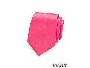 Kravata AVANTGARD LUX 561-14604 Růžová (Barva Růžová, Velikost šířka 7 cm, Materiál 100% polyester)