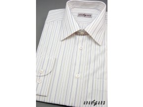Pánská košile AVANTGARD dl. ruk. 511-03 V03-bílá (Barva V03-bílá, Velikost 41/182, Materiál 70% bavlna a 30% polyester)