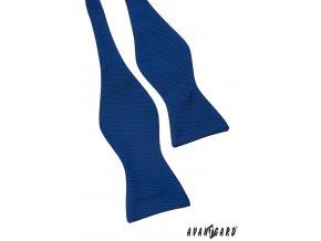 Zářivě modrý vázací motýlek + kapesníček