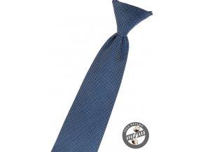 Modrá dětská vzorovaná kravata