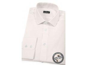 Smetanová pánská slim fit košile, dl.rukáv, 109-206