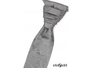 Regata PREMIUM + kapesníček 577-41 Šedá (Barva Šedá, Velikost 0, Materiál 100% polyester)