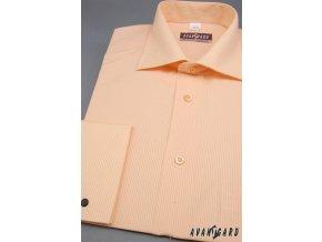 Pánská košile KLASIK MK 512-2104 2104 - losos (Barva 2104 - losos, Velikost 40/182, Materiál 70% bavlna a 30% polyester)