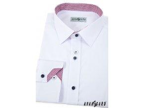 Bílá pánská košile, dl. rukáv, 511-0173