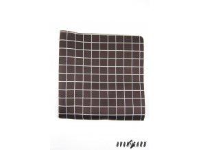 Kapesníček AVANTGARD LUX 583-1623 Černá (Barva Černá, Velikost 28x28 cm, Materiál 100% polyester)